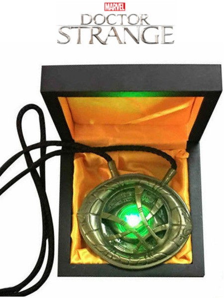 Cattoys Marvel Doctor Strange Eye of Agamotto Prop Replica